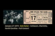 January 17 1974 - Bob Dylan - Coliseum, Charlotte, North Carolina - Full  Part-1