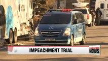 Choi Soon-sil testifies in impeachment trial