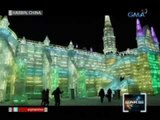 Saksi: Mga nakamamanghang snow sculpture, ibinida sa ice and snow festival sa Harbin, China