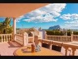 Visite maison Villa Calpe (España) Spain – Paradis pour les français ? – Plages de méditerranée