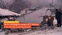 Au moins 37 morts après le crash d'un avion-cargo au Kirghizstan