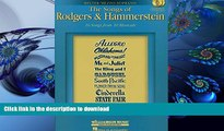 FREE [DOWNLOAD] The Songs of Rodgers   Hammerstein: Belter/Mezzo-Soprano with CDs of performances