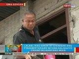 BP: Lalaki sa Gensan, nag-amok at sinaksak ang kalaguyo umano ng kanyang misis