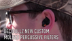 Decibullz Molded Percussive Filters
