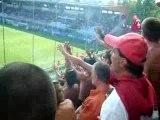 Cesena-Pisa...Vedo la squadra dalla curva...