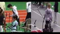 Fancam ] 170116 EXO Chanyeol Suho Sehun,Red Velvet & Twice