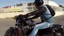 Balade moto  Grau du roi Septembre 2016 Tribu d'enfer Harley davidson