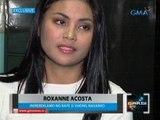 Saksi: Dating beauty pageant candidate na si Roxanne Acosta, nagsampa ng reklamong rape