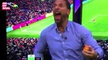 Le pétage de câble magique de Rio Ferdinand sur l'égalisation d'Ibrahimovic face à Liverpool