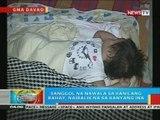 BP: Sanggol na nawala sa kanilang bahay sa Davao City, naibalik na sa kanyang ina