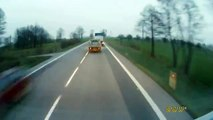 Semi truck has blow out and massive head on collision - crazy wreck crash accident car fail lol win