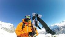 Adrénaline - Ski : Dans la poudreuse des Arcs en GoPro avec Nicolas Piguet