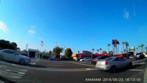Car crash   Car accident (Dashcam) June 2016 #70 Another Rear End accident Manhatten Beach, CA (USA) - YouTube