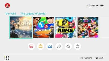 Nintendo Switch Gameplay - Treehouse de The Legend of Zelda : Breath of the Wild