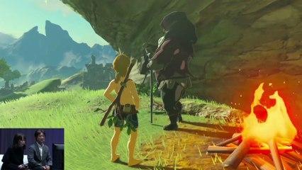 The Legend of Zelda : Breath of the Wild : Gameplay Walkthrough in Television Mode