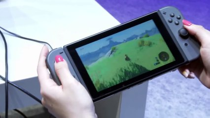 Nintendo Switch - Portable Mode Switch to TV de The Legend of Zelda : Breath of the Wild