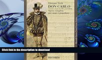 Vocal Score Don Carlo 5 Acts