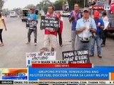 NTG: Piston, may protest caravan mula Quezon Memorial Circle patungong Malacañang