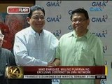 Mike Enriquez, pumirma ng exclusive contract sa GMA Network