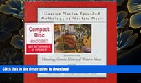 FREE [DOWNLOAD] Concise Norton Recorded Anthology of Western Music: Short Recordings Claude