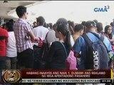 24 Oras: Habang inaayos ang NAIA 1, dumami ang reklamo ng mga apektadong pasahero