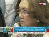 Immunity ni Ruby Tuason para sa kasong kaugnay ng pork barrel scam, inaprubahan ng Ombudsman