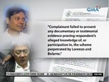 Rep. Gloria Arroyo, lusot sa reklamong graft kaugnay sa fertilizer fund scam