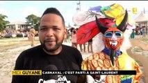 Reportage de ma nièce Alice pour Midi 1ère Guyane - Carnaval, c'est parti à Saint-Laurent