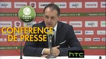Conférence de presse Valenciennes FC - FC Sochaux-Montbéliard (2-1) : Faruk HADZIBEGIC (VAFC) - Albert CARTIER (FCSM) - 2016/2017