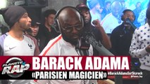 """Barack Adama """"Parisien magicien"""" Feat Black D, Lenine, Guy 2 Bezbar + Freestyle #PlanèteRap"""