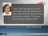 NTG: Napoles, isiniwalat din ang nalalaman niya sa Malampaya fund scam