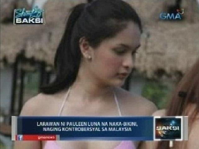 Larawan ni Pauleen Luna na naka-bikini, naging kontrobersyal sa Malaysia
