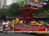 Pagsara ng Ayala Ave. dahil sa 344th anniversary ng Makati, nagdulot ng matinding trapiko