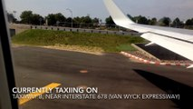 Takeoff From John F. Kennedy International Airport (JFK)- Vision Airlines (HD)