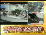 UB: Mga mangingisda sa Bohol at Albay, hindi nakapalaot dahil sa masamang panahon