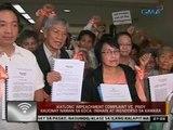 Ikatlong impeachment complaint vs. PNoy kaugnay naman sa EDCA, inihain at inendorso sa kamara
