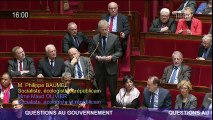 Philippe Baumel question au gouvernement sur le processus de Paix au Proche-Orient