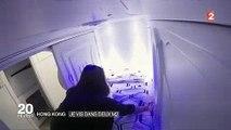 """Hong Kong : Des """"capsules"""" de... 2 mètres carrés loués 350 euros par mois ! Regardez"""