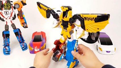 Turning Mecard hg Gryphinx Geo Mecha Beast Guardian Tobot Ashlon Champion  Robot video