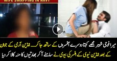 Wife Swapping Scandal in Indian Navy ---Indian Media Report