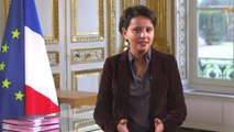 """[ARCHIVE] Réunion de travail """"Création en cours"""" : message de Najat Vallaud-Belkacem"""