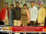 BT: Kapuso stars, dumalo sa gala premiere ng mga pelikula nilang kalahok sa Cinemalaya 2014