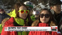 PyeongChang Organizing Committee under pressure, as 2017 test events kick off