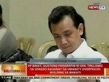 VP Binay, gustong paharapin ni Trillanes sa Senado kaugnay sa umano'y overpriced building sa Makati