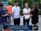 Manaloto at kanyang asawa, humarap sa NBI kaugnay sa umano'y suhulan sa Maguindanao Massacre case