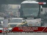 Pagteterminal ng 556 provincial bus sa South station transportation terminal tuloy na tuloy na