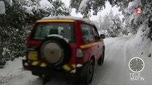 Pic de froid : la Corse et les Pyrénées sous la neige