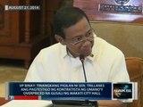 VP Binay: Tinangkang pigilan ni Sen. Trillanes ang pagtestigo ng kontratista