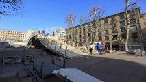 Adrénaline - Tous sports : Comment construire une piste de glace en plein coeur de Marseille ?