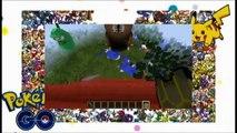 POKEMON GO Minecraft vs Pokemon go GIGA PINSIR!!